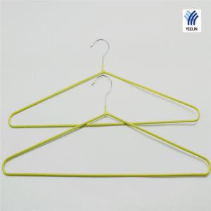 Yeelin Green PVC Coating Laundry Hanger Light Weight pictures & photos
