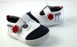 Hotsale Baby Shoes Injection Canvas Shoes Customized (LB08) pictures & photos