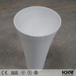 Modern Art Design Solid Surface Sanitaryware Basin Pedestal (B170801) pictures & photos