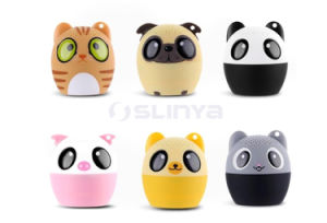 Portable IP7 High-End Cute Creative Bass Mini Metal Speakers Waterproof LED Wireless Bluetooth Speaker pictures & photos