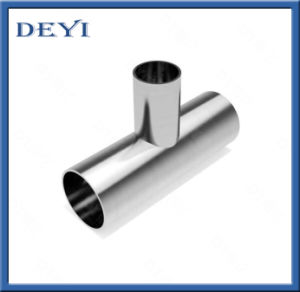 304/316L Sanitary Stainless Steel Weld Equal Tee (DYTF-014) pictures & photos