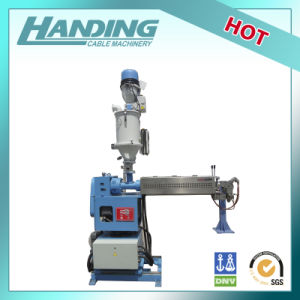 PVC and PE Extrusion Machine for Cable and Wire Machine pictures & photos