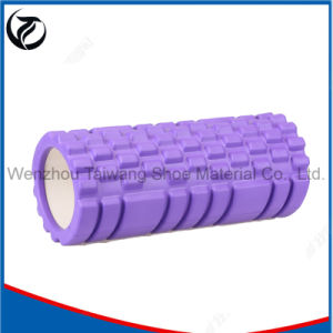 Yoga Pilates Foam Roller High Density PVC Hollow Yoga Roller pictures & photos