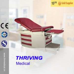 Thr-Dh-S106 Hospital Multi-Function Examination Gynaecological Bed with Drawers pictures & photos