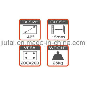 Economy TV Wall Mount for 17-42′′ pictures & photos