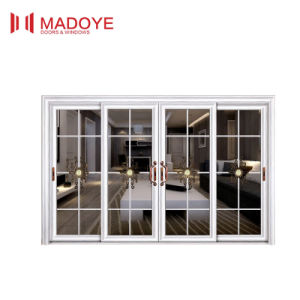 Aluminum Glass Sliding Door From Foshan Factory pictures & photos