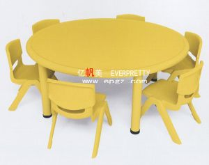 China Kids School Furniture Kids Plastic Table and Chair Set (SF-32K) pictures & photos