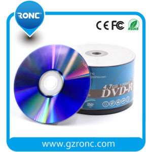 8X Blank DVD-R Discs with 100/50PCS Shrink Wrap Packing pictures & photos