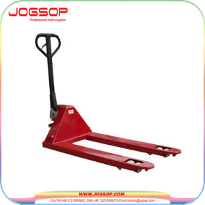 Hydraulic Pump Hand Pallet Truck, Move by Hand Scissor Lift pictures & photos