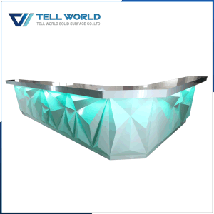 SPA Reception Desk, LED Front Counter for Sale pictures & photos