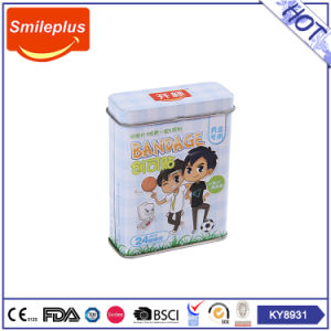 Tin Box Pack Cartoon PE Bandage for Family Care From China Hongyu Medical Factory pictures & photos
