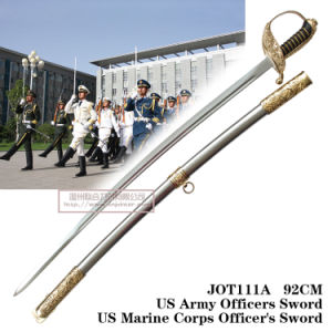 Us Army Officers Sword Us Marine Corps Officer′s Sword 92cm Jot111A pictures & photos
