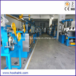 Single Screw Wire and Cable Extruder Line pictures & photos