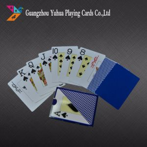 0.3mm Thickness 100% Plastic Educational Cards Playing Cards pictures & photos