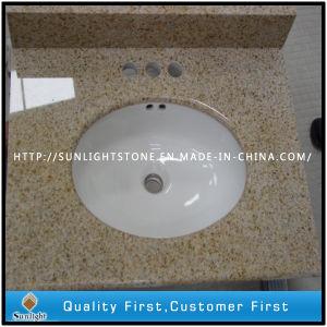 Yellow Rust G682 Granite Stone Vanity Tops for Bar, Bathroom, Island pictures & photos