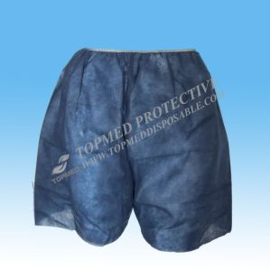 Non Woven Disposable Boxer, Shorts, Women and Men′s Short Pants for SPA pictures & photos