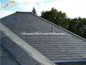 Natural Black Roof Slate with Honed Surface (KSRS1317)