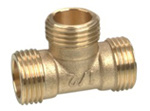 Brass Tee Male Thread (KX-BF017) pictures & photos