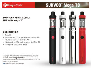 Cheap Mini E-Cigarette Kanger Subvod Mega Pen Vape pictures & photos
