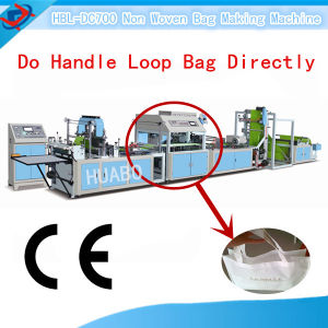 Hbl-DC700-800 Automatic Non Woven Bag Making Machine pictures & photos