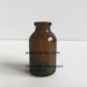 20ml Amber Glass Vials with Sulfuration for Pharma pictures & photos