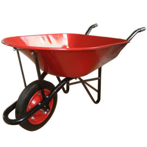 Yard Hand Cart Red Wheel Barrow Wb9500 pictures & photos