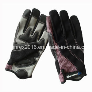 Cycling Full Finger Sports Bike Bicycle Sports Equipment Glove Gel Padding Sports Glove pictures & photos