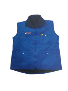 Multi-Pockets Greaseproof Safety Working Vest (HS-V005)