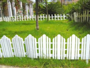 White Color Agriculture Garden Plastic Fence
