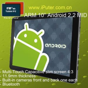"""10.1"""" MID Android 2.2 Freescale"""