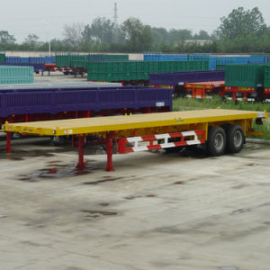 ISO CCC 2 Axles 40ft Container Trailer pictures & photos