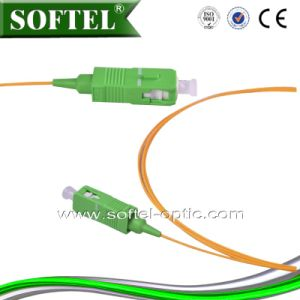 FTTH Fiber Optic Sc APC Patch Cord Pigtail pictures & photos