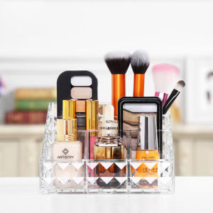 Desktop Acrylic Cosmetic Storage Box Cosmetic Organizer pictures & photos
