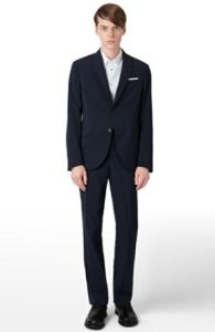 2015 Trendy New Design 100% Wool Mtm Suit for Men pictures & photos