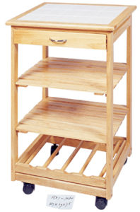 Wooden Kitchen Trolley