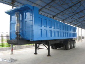 50tons Tipper Trailer with Hyva Hydraulic pictures & photos