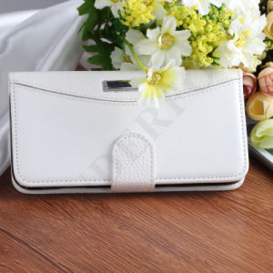 Hot Selling Luxury Leather Wallet Phone Case for iPhone pictures & photos