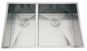 Handmade Stainless Steel Sink, Stainless Steel Kitchen Sink pictures & photos