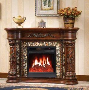 CE Approved European Electric Fireplace (618) pictures & photos