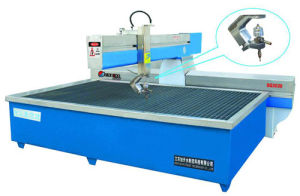 Steel Cutting Machine /Five Axis Water Jet Cutting Machine (SQ3020) pictures & photos
