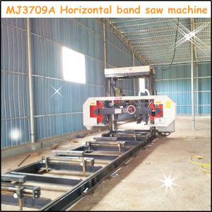 Mj3709A Horizontal Wood Band Sawmill pictures & photos