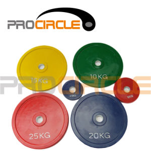 Crossfit Standard Olympic Rubber Bumper Plates (PC-BP1034-1044) pictures & photos
