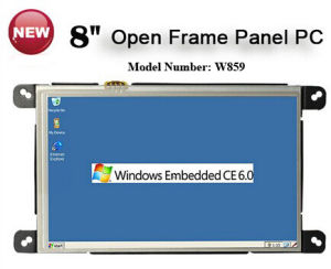 "Built in 2X RS232 Port 8"" Open Frame Panel PC pictures & photos"