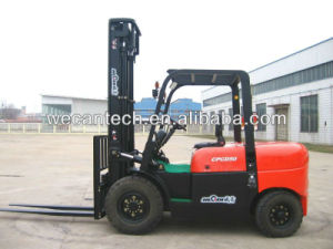 5ton Diesel Forklift Truck with 3 Meter Lifting High