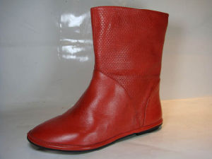Lady Short Leather Boot (326-801R NC007)