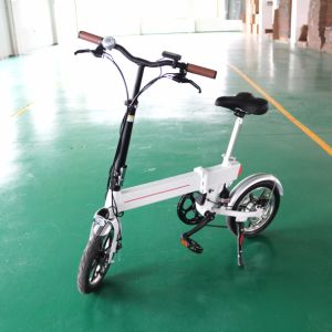 "2017 New Mini 14"" Folded Electric Bike 1401 pictures & photos"