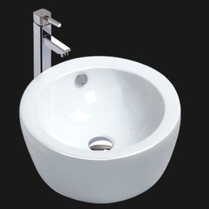 Unique Porcelain Bathroom Vessel Sink (6009) pictures & photos