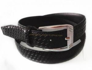 2014 New Woven Pattern Fashion Man Belt pictures & photos