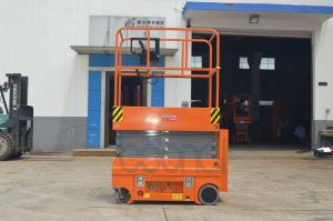 Self-Propelled Mini Scissor Lift (Customized) Max Working Height 5 (m) pictures & photos