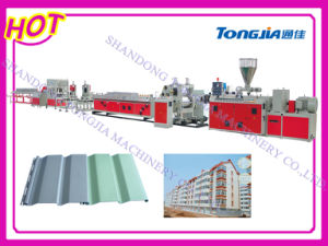 Plastic Corrugated Sheet Extrusion Extruder Line (JG-GB) pictures & photos